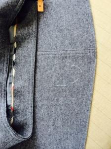スカート穴修理4